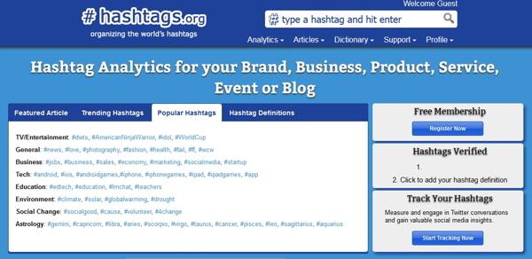 Cómo encontrar las mejores etiquetas en las redes sociales2