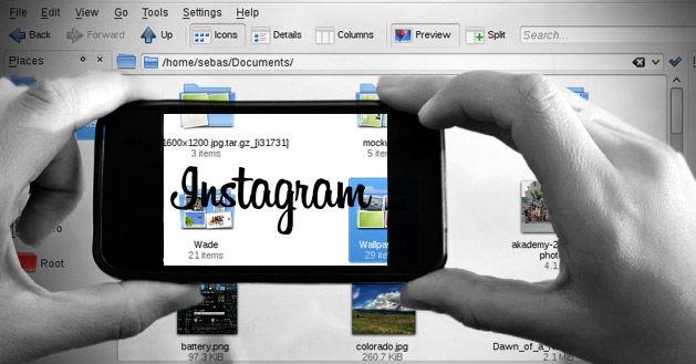 Instagram creación de post