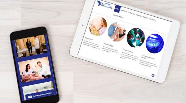 Presencia médica en la web