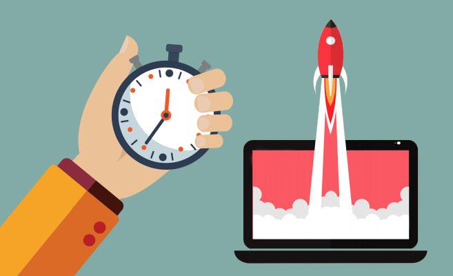 tiempos de carga de web