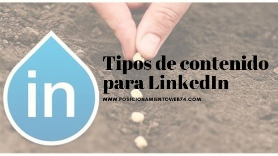 Tipos de contenido para LinkedIn